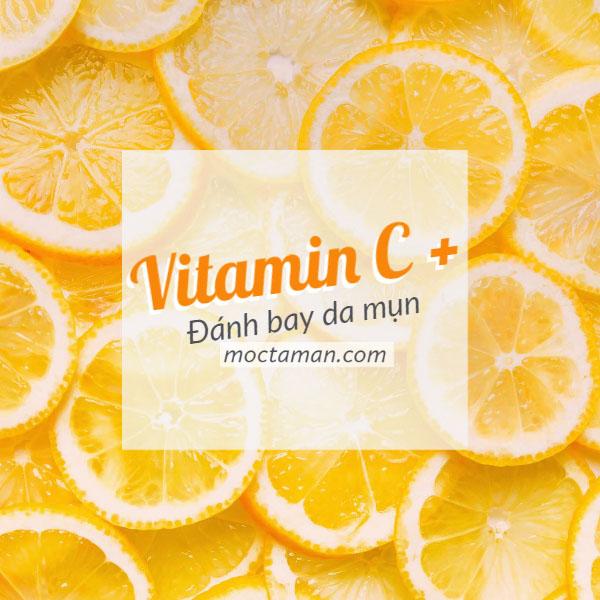 Trị Mụn Bằng Vitamin C – Trị Mụn Trị Thâm Hiểu Quả Cực Nhanh